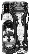 Wrought Iron Gate -west Epping Nh Usa IPhone X Tough Case