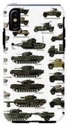 Ww2 British Tanks IPhone X Tough Case