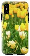 Yellow And White Tulips In Canberra In Spring IPhone X Tough Case