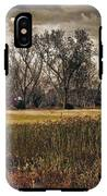 Yellow Barn And The Field IPhone X Tough Case