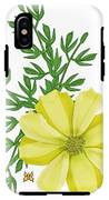 Yellow Cosmos IPhone X Tough Case