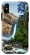 Yosemite Waterfall IPhone X Tough Case
