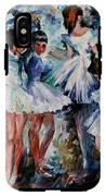 Young Ballerinas IPhone X Tough Case