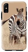 Zebra Pair IPhone X Tough Case