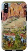 Zion Mountain Cliff IPhone X Tough Case