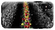 Rows Of Tulips IPhone X Tough Case