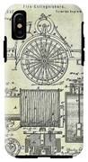 1873 Fire Extinguisgers Patent IPhone X Tough Case