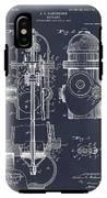 1903 Fire Hydrant Blackboard Patent Print IPhone X Tough Case