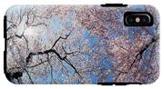 Low Angle View Of Cherry Blossom Trees IPhone X Tough Case