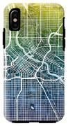 Minneapolis Minnesota City Map IPhone X Tough Case