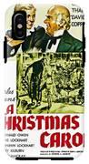 A Christmas Carol Movie Poster 1938 IPhone X Tough Case