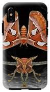 A Is For Atlas Moth IPhone X Tough Case