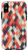Abstract Geometric Background For IPhone X Tough Case