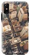 Aerial View Of Midtown Manhattan At IPhone X Tough Case