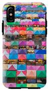 Aerial View Of Multiple Color Roof To IPhone X Tough Case