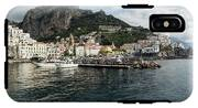Amalfi Town Seen From Ferry Approaching IPhone X Tough Case