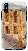 Amphitheater Of The Acropolis Of IPhone X Tough Case