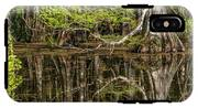 Bald Cypress Trees And Reflection, Six IPhone X Tough Case