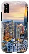 Bangkok City At Sunset, Mahanakorn IPhone X Tough Case