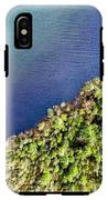 Big Bay Bear Lake Aerial IPhone X Tough Case