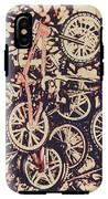 Bike Mountain IPhone X Tough Case