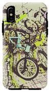 Bikes And City Routes IPhone X Tough Case