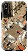 Birds Eye View Of Manhattan, Looking IPhone X Tough Case