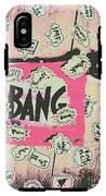Boom Crash Bang IPhone X Tough Case