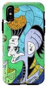 Brain-man IPhone X Tough Case