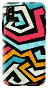 Bright Graffiti Seamless Pattern With IPhone X Tough Case