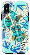 Britain Blues IPhone X Tough Case