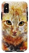 Cat's Eye IPhone X Tough Case