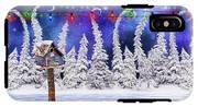 Christmas Lights IPhone X Tough Case