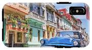 Classic Car Havana 8x10 IPhone X Tough Case