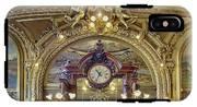 Clock At Le Train Bleu IPhone X Tough Case