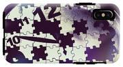 Clock Holes And Puzzle Pieces IPhone X Tough Case
