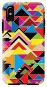Color Abstract IPhone X Tough Case