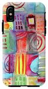Colorful Patchwork 1- Art By Linda Woods IPhone X Tough Case