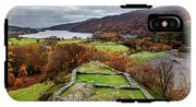 Dolbadarn Castle View IPhone X Tough Case