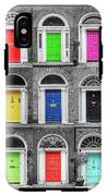 Doors Of Dublin - Vertical IPhone X Tough Case