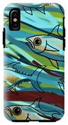 F Is For Fish IPhone X Tough Case
