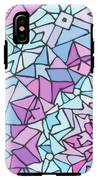 Comfortably Cosmic, In Lavendar IPhone X Tough Case