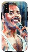 Freddie Mercury Live Aid IPhone X Tough Case