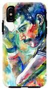 Freddie Mercury With Cigarette IPhone X Tough Case