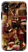 German Christmas Ornaments IPhone X Tough Case