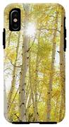 Golden Sunshine On An Autumn Day IPhone X Tough Case