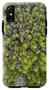 Grove Of Pines Aerial IPhone X Tough Case