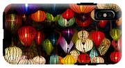 Handcrafted Lanterns In Ancient Town IPhone X Tough Case