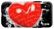 Heart Art IPhone X Tough Case