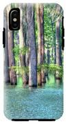 High Bayou Water IPhone X Tough Case